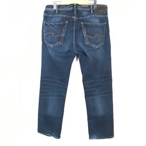 Silver Grayson easy fit straight leg jeans 32x30
